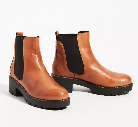 Dale Chelsea Boots. Image via Anthropologie.