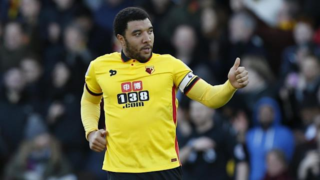 "<a class=""link rapid-noclick-resp"" href=""/soccer/teams/watford/"" data-ylk=""slk:Watford"">Watford</a> needs <a class=""link rapid-noclick-resp"" href=""/soccer/players/troy-deeney/"" data-ylk=""slk:Troy Deeney"">Troy Deeney</a> to rediscover his goal-scoring form if it wants to avoid relegation. (Reuters)"