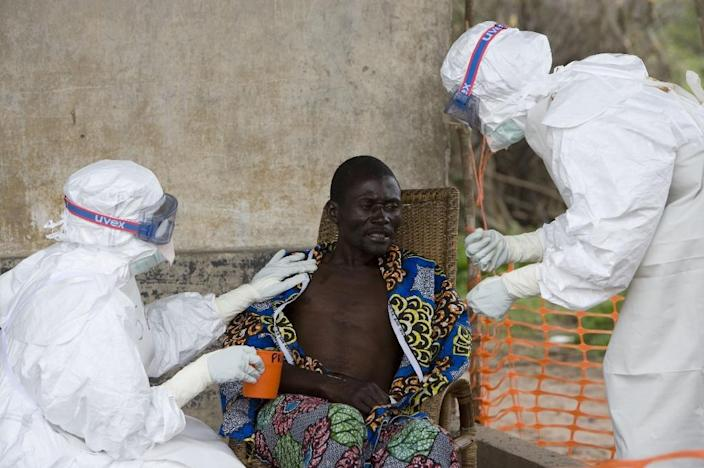 The Ebola outbreak in remote northern DR Congo is the first in Africa since a a crisis that began at the end of 2013 in west Africa that killed 11,300 people (AFP Photo/CHRISTOPHER BLACK)