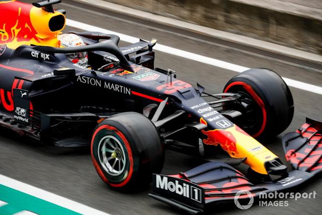 "Max Verstappen, Red Bull Racing RB16 <span class=""copyright"">Glenn Dunbar / Motorsport Images</span>"