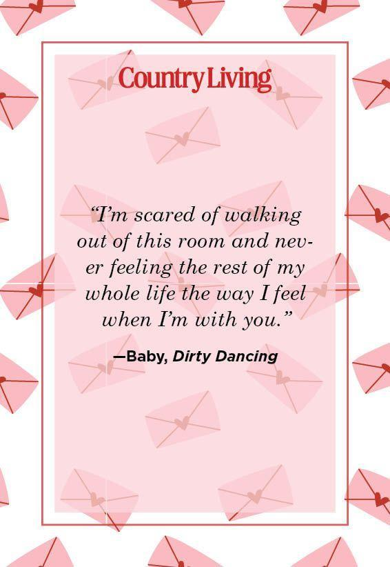 """<p>""""I'm scared of walking out of this room and never feeling the rest of my whole life the way I feel when I'm with you.""""</p>"""