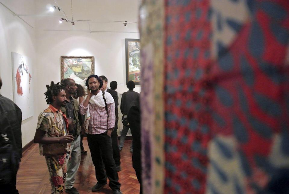"""<p>Rakeb Sile and Mesai Haileleu founded <a href=""""https://addisfineart.com/"""" rel=""""nofollow noopener"""" target=""""_blank"""" data-ylk=""""slk:Addis Fine Art"""" class=""""link rapid-noclick-resp"""">Addis Fine Art</a> with the mission to highlight contemporary artists from the Horn of Africa region and its diasporas. Based both in Addis Ababa, Ethiopia, and London, the gallery has opened a dialogue on modern African art within the industry and given artists the opportunity to showcase their works on a global platform. Addis Fine Art's portfolio of represented artists includes preeminent modernist painters like Lulseged Retta and Girma Berta. <em><br></em></p><p><em>Locations include Addis Ababa and London. </em></p>"""