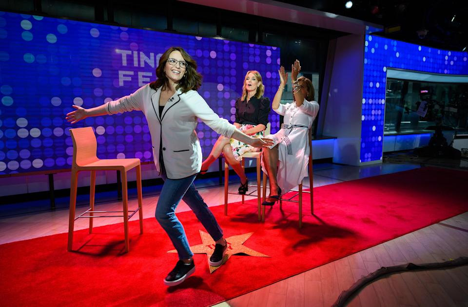 Tina Fey on the TODAY show (Nathan Congleton / TODAY)