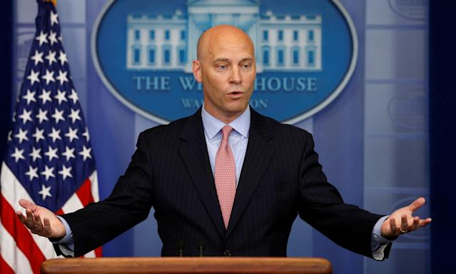 Marc Short, White House director of legislative affairs, won't say whether Trump believes the women accusing Alabama Senate nominee Roy Moore of sexual misconduct.