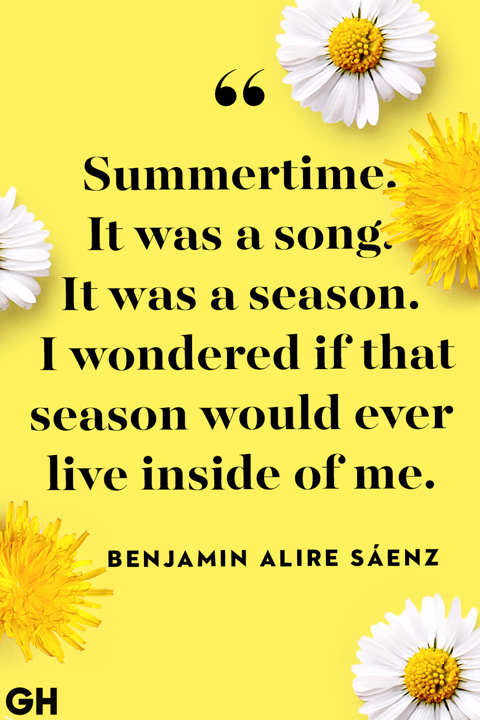 """<p>""""Summertime. It was a song. It was a season. I wondered if that season would ever live inside of me.""""</p>"""