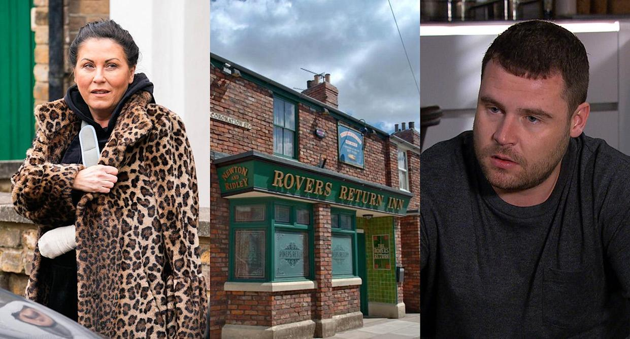 EastEnders, Coronation Street and Emmerdale will be released as boxsets while the Euros are on. (BBC/Kieron McCarron/Jack Barnes. ITV)