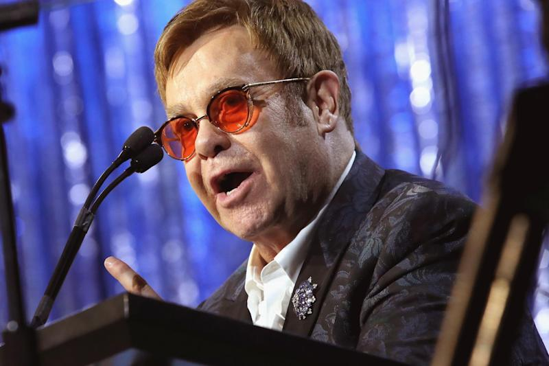 Elton John has had to cancel a string of upcoming concerts: Getty Images for EJAF