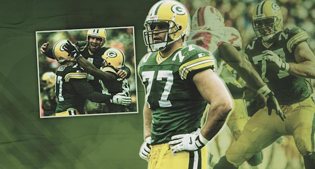 Injuries derailed John Michels' NFL career, but he helped the Green Bay Packers win a Super Bowl in the 1996 season. (Paul Rosales/Yahoo Sports)