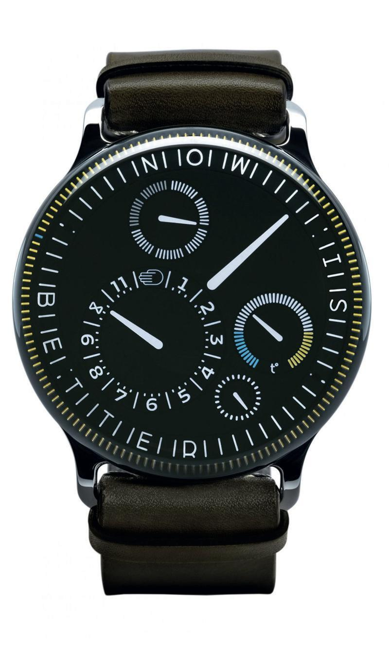 """<p>Black Type 3X Limited Edition </p><p><a class=""""link rapid-noclick-resp"""" href=""""https://go.redirectingat.com?id=127X1599956&url=https%3A%2F%2Fwww.mrporter.com%2Fen-gb%2Fmens%2Fproduct%2Fressence%2Fluxury-watches%2Fsmart-watches%2Ftype-3x-limited-edition-automatic-44mm-titanium-and-leather-watch%2F19971654706816656&sref=https%3A%2F%2Fwww.menshealth.com%2Fuk%2Fstyle%2Fwatches%2Fg35332587%2Fbest-mens-watche1%2F"""" rel=""""nofollow noopener"""" target=""""_blank"""" data-ylk=""""slk:SHOP"""">SHOP</a></p><p>Oh, so you fancy something a little bit different for 2021? Ressence, a next-gen marque first established in 2010, rethinks performance. Instead of standard nuts and cogs, a patented system places all windows on a single surface that sits just under the sapphire glass, and operates using a magnetic transmission connector.</p><p>If that wasn't special enough though, Ressence launched the Black Type 3X limited edition to celebrate the brand's 10th anniversary with a tiny production run of just 40 pieces worldwide. </p><p>£37,500; <a href=""""https://go.redirectingat.com?id=127X1599956&url=https%3A%2F%2Fwww.mrporter.com%2Fen-gb%2Fmens%2Fproduct%2Fressence%2Fluxury-watches%2Fsmart-watches%2Ftype-3x-limited-edition-automatic-44mm-titanium-and-leather-watch%2F19971654706816656&sref=https%3A%2F%2Fwww.menshealth.com%2Fuk%2Fstyle%2Fwatches%2Fg35332587%2Fbest-mens-watche1%2F"""" rel=""""nofollow noopener"""" target=""""_blank"""" data-ylk=""""slk:mrporter.com"""" class=""""link rapid-noclick-resp"""">mrporter.com</a></p>"""
