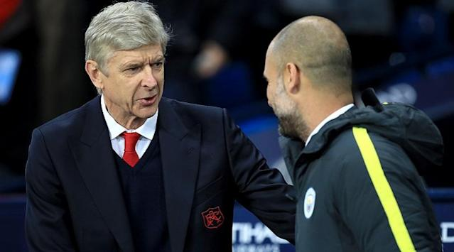 The two managers will lock horns when Arsenal face Manchester City this weekend, and Alex Keble believes the Catalan could show how far his opposite number has fallen