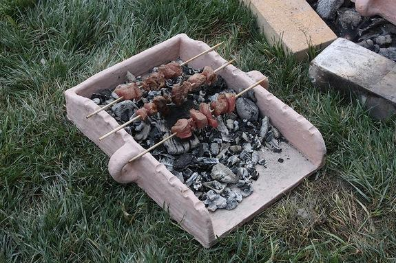 Ancient Greeks Used Portable Grills at Their Picnics