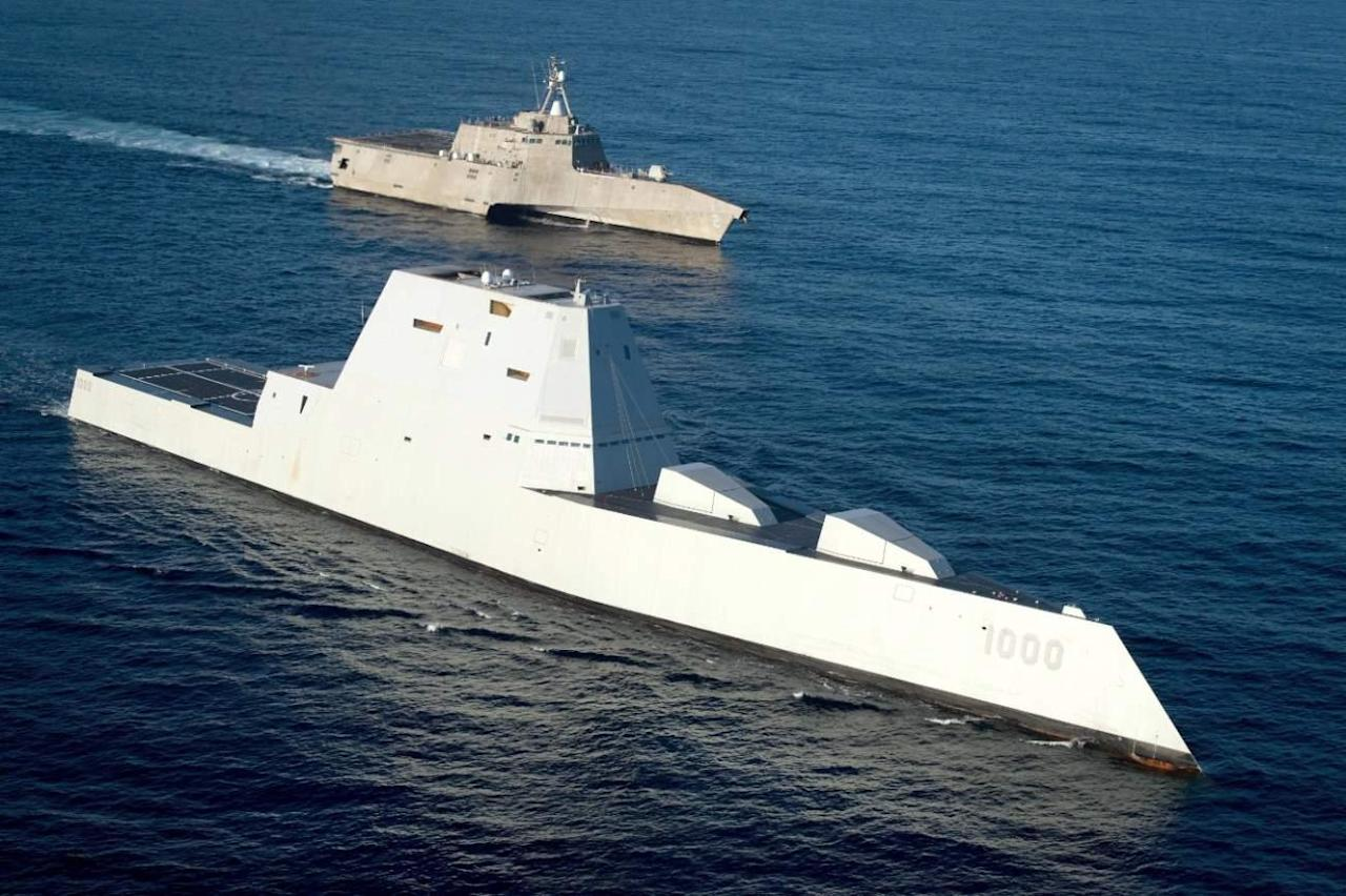 Looks Don't Kill: The Navy's Zumwalt-Class Stealth Destroyers Aren't Ready To Fight