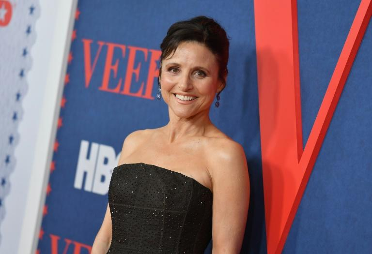 "Julia Louis-Dreyfus has won an Emmy for every season of ""Veep"" (AFP Photo/Angela Weiss)"