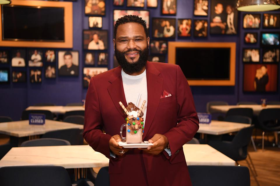 LAS VEGAS, NEVADA - OCTOBER 08: Actor Anthony Anderson attends the reopening of Planet Hollywood Resort & Casino on October 08, 2020 in Las Vegas, Nevada. (Photo by Denise Truscello/Getty Images for Caesars Entertainment)