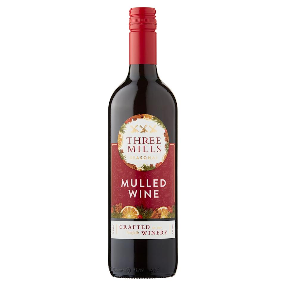 "<p>This warming mulled wine has a vibrant spicy aroma of nutmeg, star anise, cinnamon and cloves alongside a fresh citrus note. The flavour is tangy with a well-balanced sweet note, plenty of juicy black fruit flavours and an underlying layer of warming Christmassy spice.</p><p><strong><a class=""body-btn-link"" href=""https://go.redirectingat.com?id=127X1599956&url=https%3A%2F%2Fwww.ocado.com%2Fwebshop%2FstartWebshop.do&sref=https%3A%2F%2Fwww.goodhousekeeping.com%2Fuk%2Ffood%2Ffood-reviews%2Fg23929143%2Fthe-best-mulled-wine-for-christmas-this-year%2F"" target=""_blank"">BUY NOW</a>, Ocado, £2.99 per 75cl (available from early November)</strong></p>"