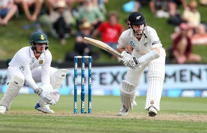 Kane Williamson leads Kiwi fightback vs South Africa in first Test