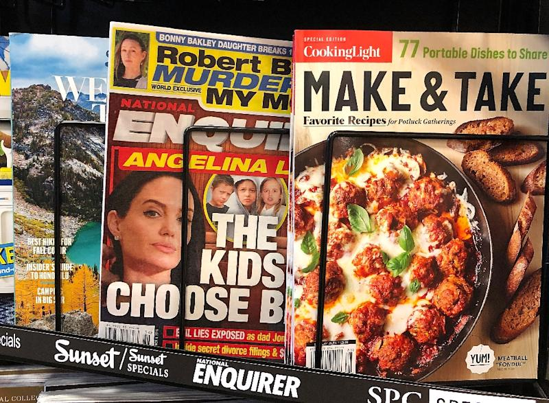 The National Enquirer supermarket tabloid is being sold by parent firm American Media to a private investor