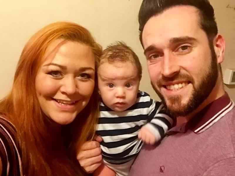 The adorable baby's parents Tom and Laura weren't expecting him to be verbal so early. Source: Mega