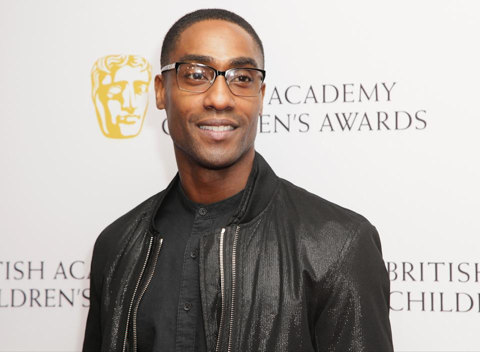 Simon Webbe poses for photographers as he arrives for the British Academy Children's Awards in London, Sunday, Nov. 23 2014. (Photo by Grant Pollard/Invision/AP)