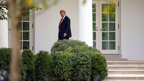 PHOTO: President Donald Trump walks to the Oval Office of the White House, Sept. 26, 2019. (Carolyn Kaster/AP, FILE)