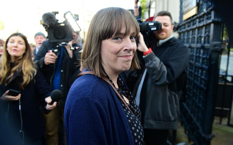 Labour MP Jess Phillips has been labelled a 'Karen' by Twitter users - Geoff Pugh/Telegraph