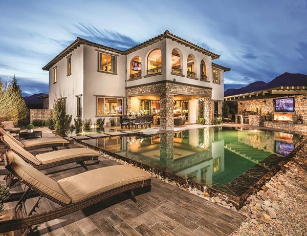 The Sorrento, Altura, Las Vegas, NV:Toll Brothers, America's Luxury Home Builder