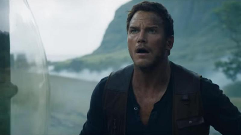 Jurassic World: Fallen Kingdom' Trailer: Chris Pratt & Heel