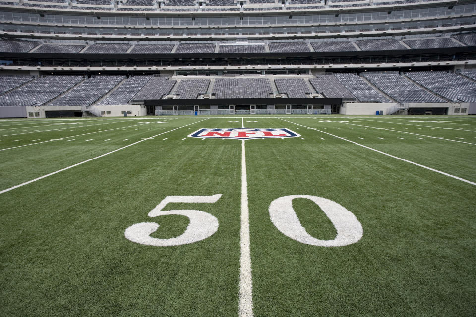 The NFL reportedly set its advisory committee to help with COVID-19 related issues. (Getty Images)