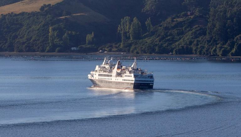 The Silver Explorer cruise ship is one of two quarantined off Chile