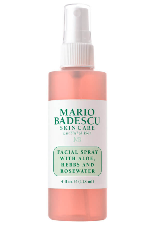 Mario Badescu Facial Spray With Aloe Herbs And Rosewater for dehydrated skin