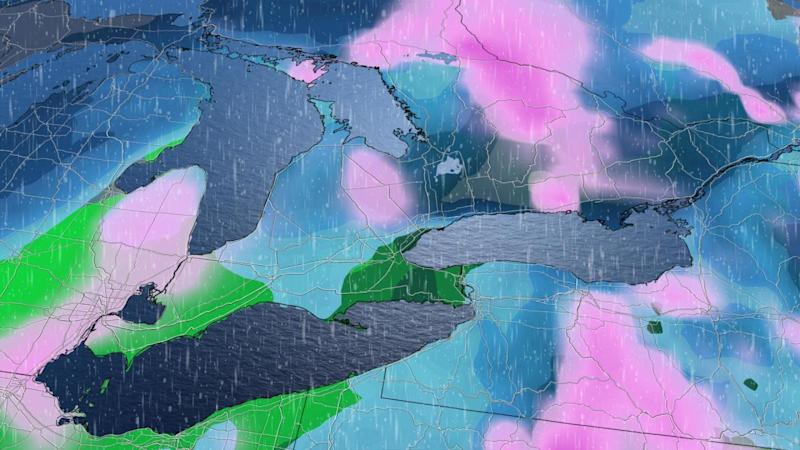 Ontario: Weekend system threatens 20 cm of snow, 20 mm of rain for some