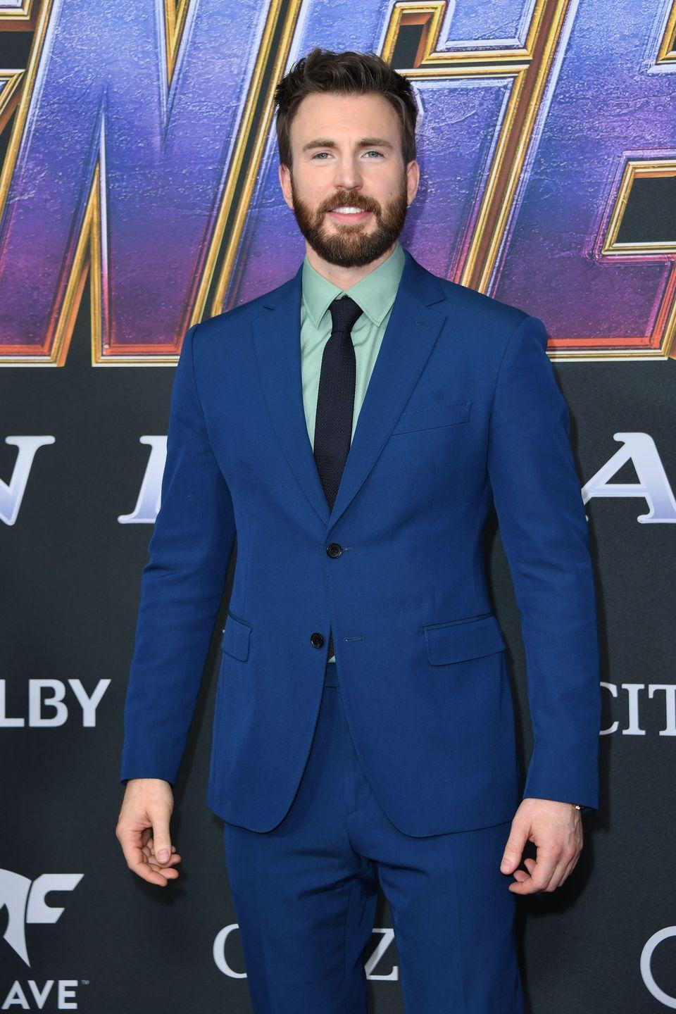 """<p>In order to match up to Evans' action skills in the <em>Avengers</em> films, stunt double Sam Hargrave (and director of the Netflix film <em>Extraction</em>) knew he had to make sure his workout routine was in top shape. """"When you're part of something like that, you don't want anybody looking to you as the weak link,"""" he told <em><a href=""""https://www.menshealth.com/fitness/a31024424/chris-evans-stunt-double-workout/"""" rel=""""nofollow noopener"""" target=""""_blank"""" data-ylk=""""slk:Men's Health"""" class=""""link rapid-noclick-resp"""">Men's Health</a></em>. """"You've got to be able to do your backflips, you've got to do your martial arts, and you have to do take after take<em>.""""</em></p><p><a class=""""link rapid-noclick-resp"""" href=""""https://www.youtube.com/watch?v=hKpU3Frpzpc&t=30s"""" rel=""""nofollow noopener"""" target=""""_blank"""" data-ylk=""""slk:Watch here"""">Watch here</a><br></p>"""