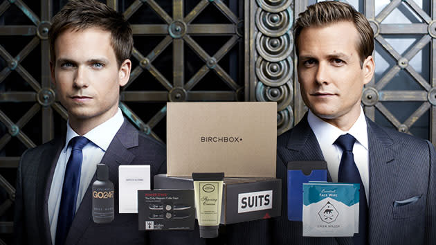 """Suits"" Giveaway - BIrchbox"