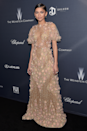 <p>This floral Marchesa gown, worn for the 2016 pre-Oscars dinner, is a work of art.</p>
