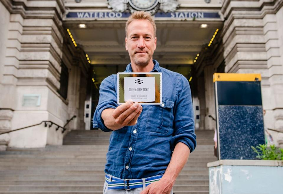 TV presenter Ben Fogle is urging travellers to explore by rail