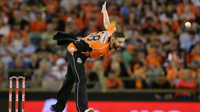 Andrew Tye has been out of action since April, but could make his comeback for Australia in India.