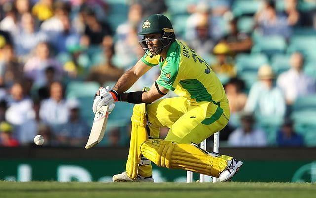 Glenn Maxwell was his innovative best against India in the 1st ODI