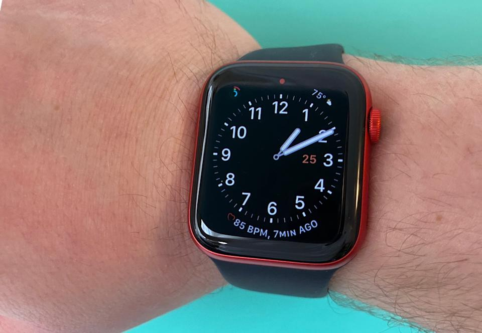 The Apple Watch Series 6 is the best timepiece Apple has made yet. (Image: Howley)