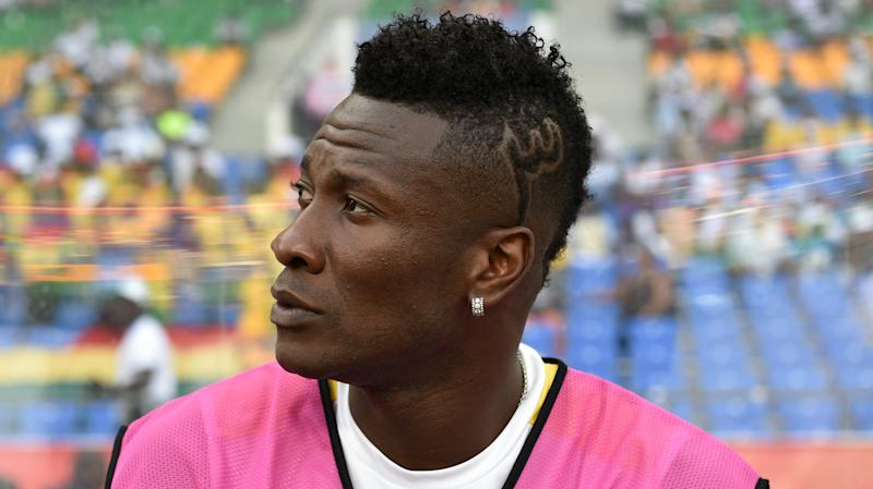 Gyan ruled out for three weeks after medical examinations