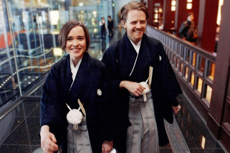 """<p>Produced by <em>Vice</em>, this show is about the highest of highs and the lowest of lows. In it, actress Ellen Page and her film director friend Ian Daniel travel to learn about what it's like to be LGBTQ+ around the world. They meet with two-spirit Native Americans, head to ballroom scenes in New York City, and visit the gay bars of Tokyo to dive deep into the vibrant gay and queer culture. But the duo also spends time in Rio de Janeiro, Jamaica, and Ukraine, speaking with LGBTQ+ locals to learn about the discrimination and threats they face just by existing. Expect tears, both happy and sad. </p> <p><strong>Watch now:</strong> Free with a Hulu subscription (<a href=""""https://fave.co/3jyoIV8"""" rel=""""nofollow noopener"""" target=""""_blank"""" data-ylk=""""slk:sign up for Hulu here"""" class=""""link rapid-noclick-resp""""><em>sign up for Hulu here</em></a>)</p>"""