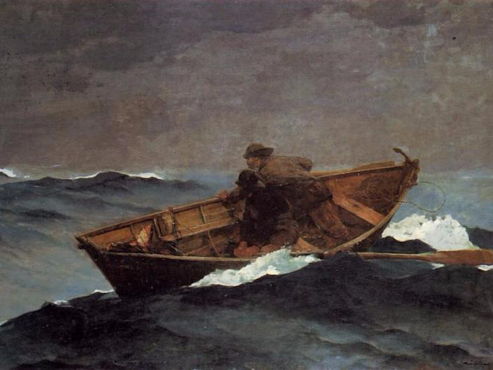 winslow homer lost on the grand banks