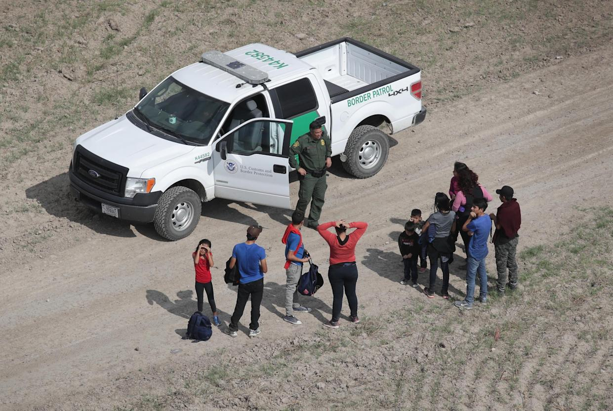The number of immigrant families, most from Central America, crossing into the U.S. to seek political asylum has risen sharply in 2018. (Photo: John Moore/Getty Images)