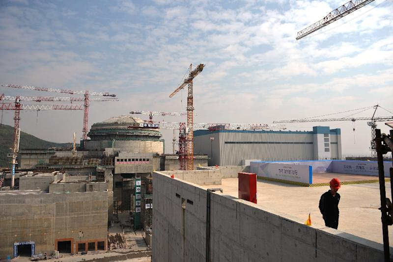 Two reactors are under construction in China's Taishan in southern Guangdong province