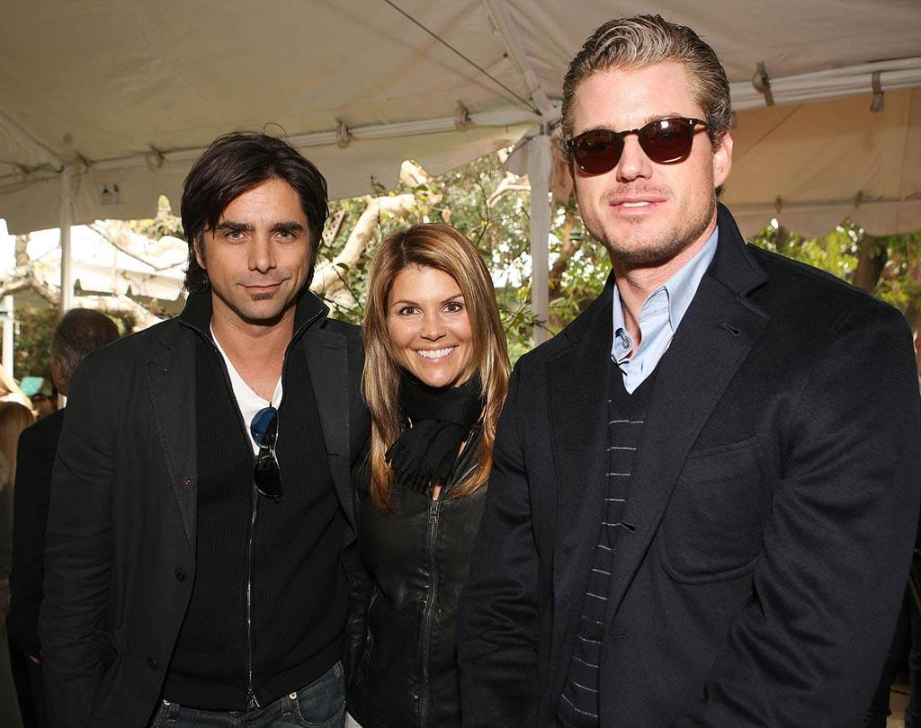 "John Stamos reunited with his ""Full House"" wife Lori Laughlin and Eric Dane at the Oliver Peoples and Van Cleef & Arpels luncheon during Oscar Week. Chris Weeks/<a href=""http://www.wireimage.com"" target=""new"">WireImage.com</a> - February 21, 2008"