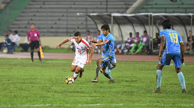 Sunil Chhetri led from the front, assisting three goals and scoring one as Bengaluru made light work of Abahani Dhaka in their final Group E match...