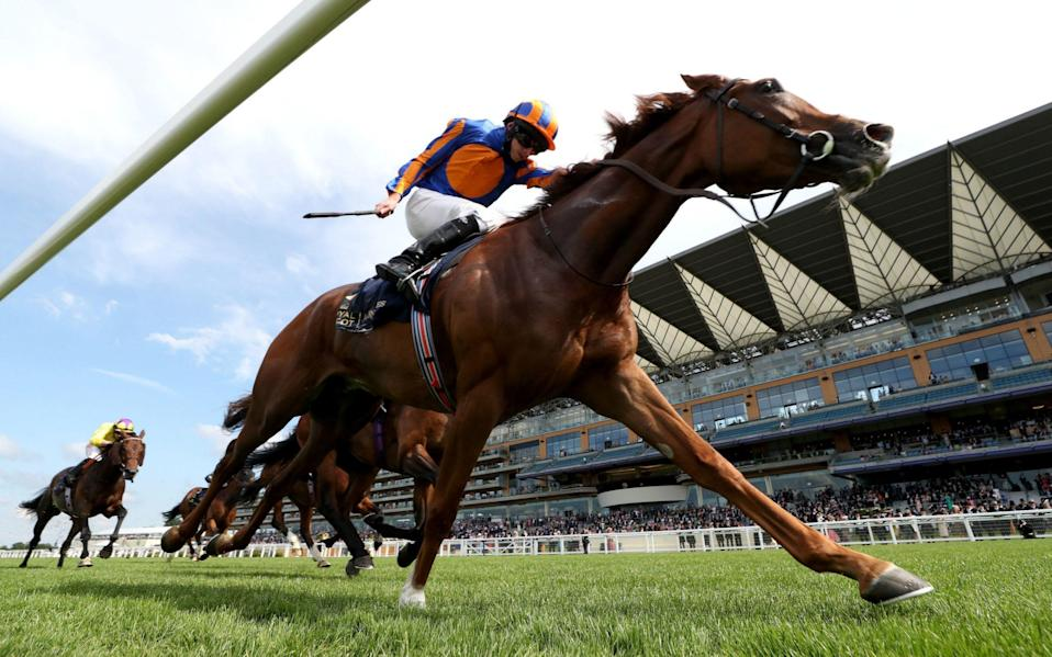 Love and Ryan Moore win the day's big race - PA Wire