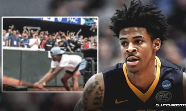 Watch Ja Morant Smash A Guitar Into Pieces As Part Of Memphis Tradition