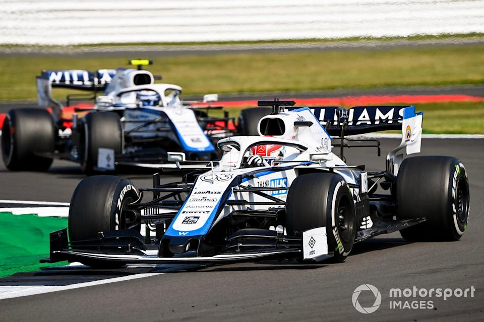 "George Russell, Williams FW43, Nicholas Latifi, Williams FW43<span class=""copyright"">Mark Sutton / Motorsport Images</span>"