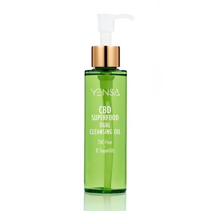<p>The <span>Yensa CBD Superfood Dual Cleansing Oil</span> ($38) contains not one, not two, but eight superfood oils, including chia, carrot, and broccoli-seed oil. The cleanser breaks down makeup while soothing irritation and leaving skin feeling moisturized.</p>