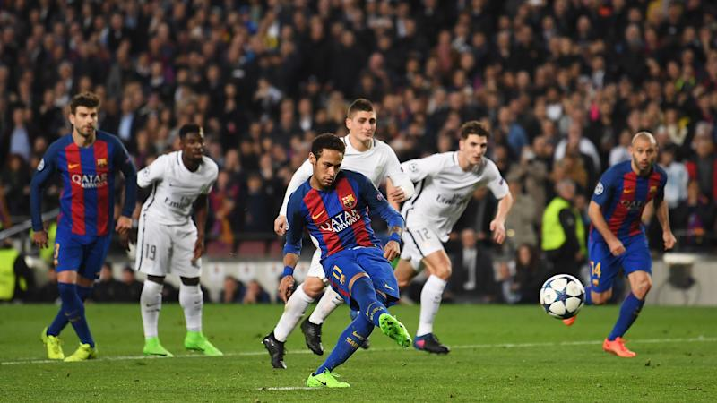 Neymar Barcelona PSG Champions League